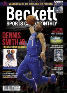 Sports Card Monthly — January 2018