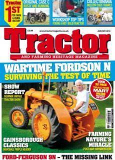 Tractor & Farming Heritage Magazine — January 2018