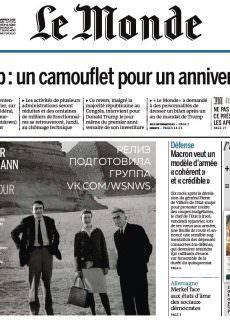 Le Monde – 21.01.2018 – 22.01.2018