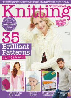Knitting & Crochet from Woman's Weekly — February 2018