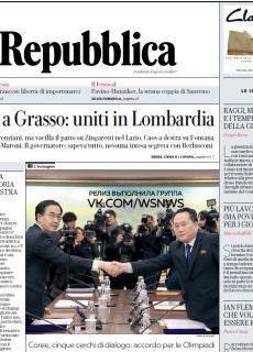 la Repubblica – 10.01.2018