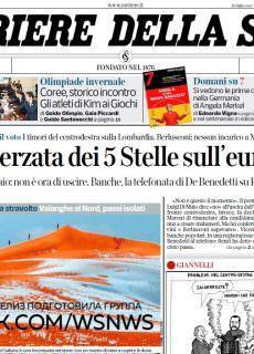 Corriere della Sera – 10.01.2018