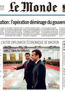 Le Monde – 11.01.2018