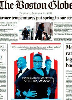 The Boston Globe – 09.01.2018