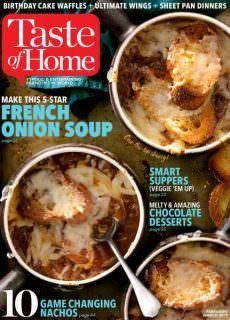 Taste of Home — January 22, 2018