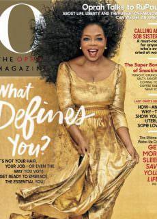 O, The Oprah Magazine — February 2018