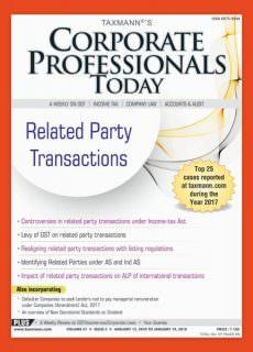 Corporate Professional Today — January 13, 2018
