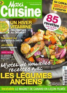 Maxi Cuisine – janvier 2018