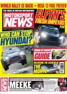 Motorsport News — January 23, 2018