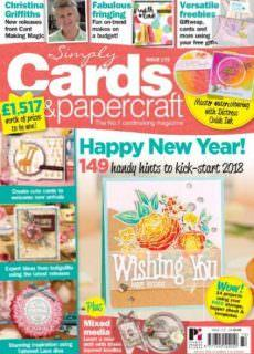 Simply Cards & Papercraft — February 2018