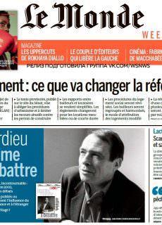 Le Monde – 13.01.2018