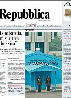 la Repubblica – 08.01.2018