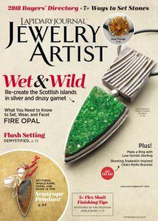 Lapidary Journal Jewelry Artist — January 2018