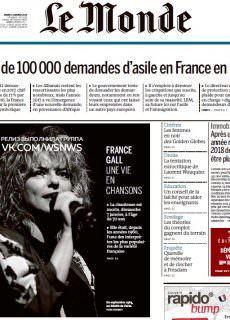 Le Monde – 09.01.2018