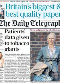The Daily Telegraph – 15.01.2018