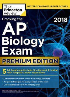 Cracking the AP Biology Exam 2018, Premium Edition by Princeton Review English