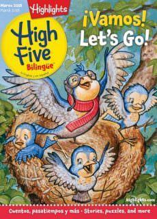 Highlights High Five Bilingue — March 2018