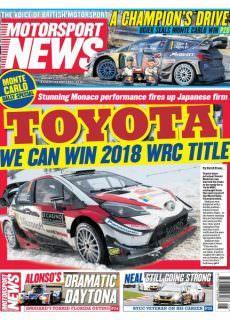 Motorsport News — January 30, 2018