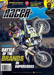 Racer X Illustrated — April 2018