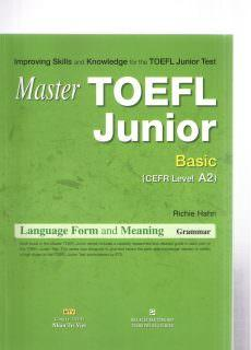 Master Toefl Junior Basic Cefr Level A2 Grammar Language For