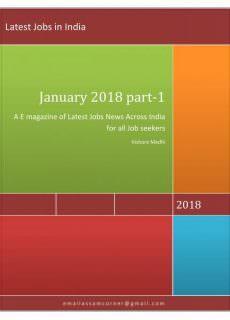Latest Jobs in India — January 29, 2018