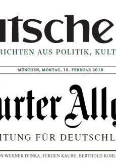 Süddeutsche Zeitung – 19.02.2019