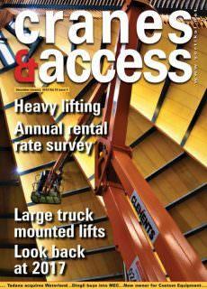 Cranes & Access — January 2018