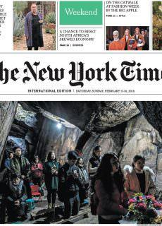 The New York Times International – 17.02.2018 – 18.02.2018