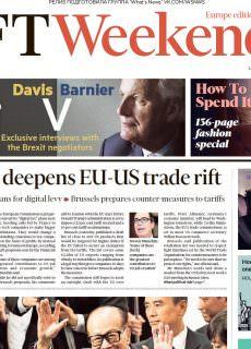 Financial Times Europe – 17.03.2018 – 18.03.2018
