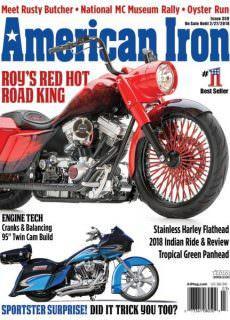 American Iron Magazine — January 2018