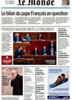 Le Monde – 11.03.2018 – 12.03.2018