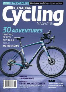Canadian Cycling – 01.04.2018