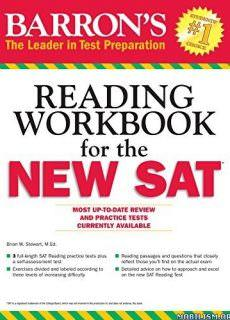 Barron's Reading Workbook for the NEW SAT by Brian Stewart