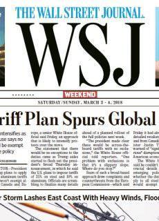 The Wall Street Journal – 03.03.2018 – 04.03.2018