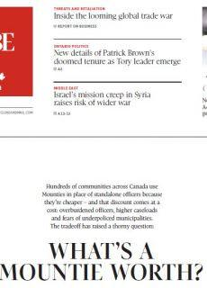 The Globe and Mail – 04.03.2018