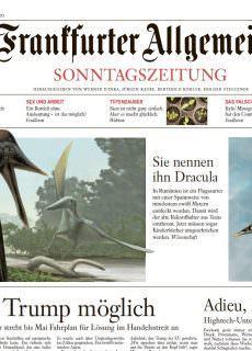 Frankfurter Allgemeine Sonntagszeitung – 25.03.2018