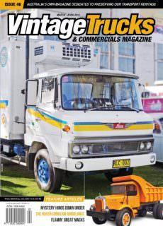 Vintage Trucks & Commercials – March-April 2018