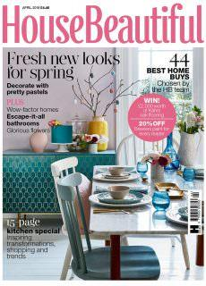 House Beautiful UK – April 2018