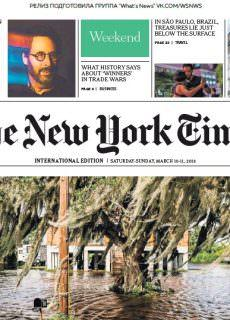 The New York Times International – 10.03.2018 – 11.03.2018