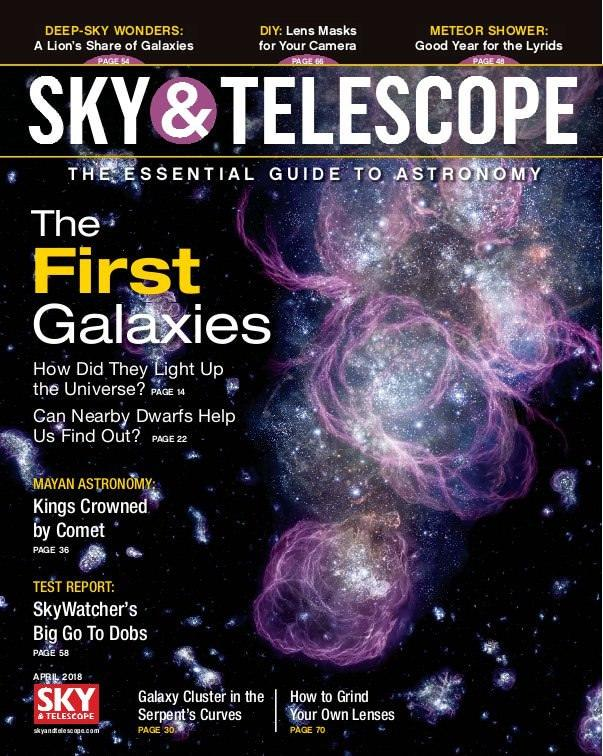 a report on the future of the universe in the magazine sky and telescope What makes a volcano sacred it can change humanity's place in the universe the planet's largest telescope could still a forthcoming report from the.