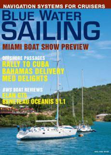 Blue Water Sailing – January 2018