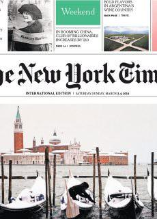 The New York Times International – 03.03.2018 – 04.03.2018