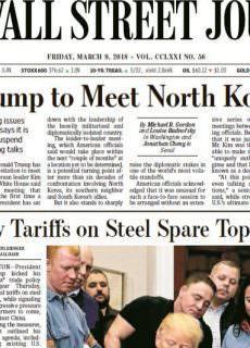 The Wall Street Journal – 08.03.2018 – 09.03.2018