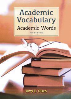 Academic Vocabulary: Academic Words