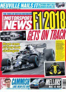 Motorsport News – 20 February 2018