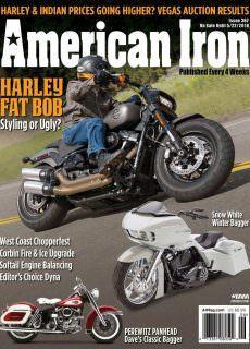 American Iron Magazine – May 2018