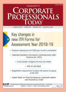 Corporate Professional Today – April 14, 2018