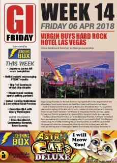The Gambling Insider Friday – 07 April 2018