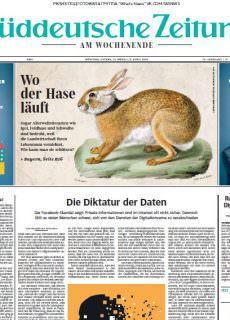 Frankfurter Allgemeine Sonntagszeitung – 01.04.2018