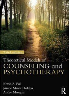 Theoretical Models of Counseling and Psychotherapy, 3rd edition